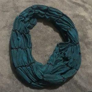 Turquoise fashion scarf
